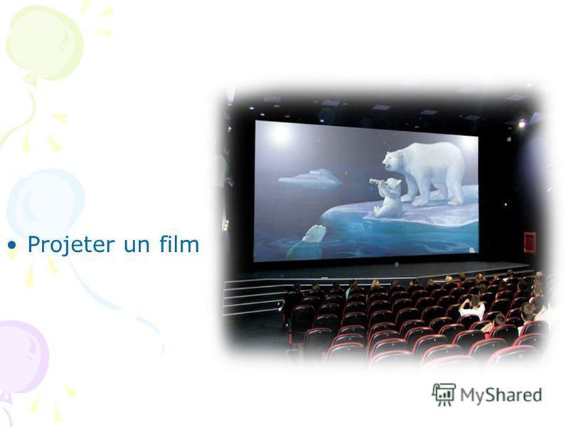 Projeter un film
