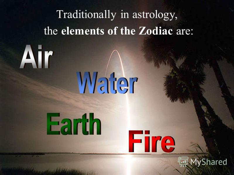 Elements of the Zodiac