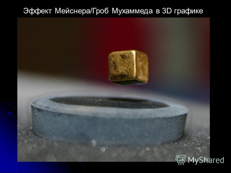 Эффект Мейснера/Гроб Мухаммеда в 3D графике