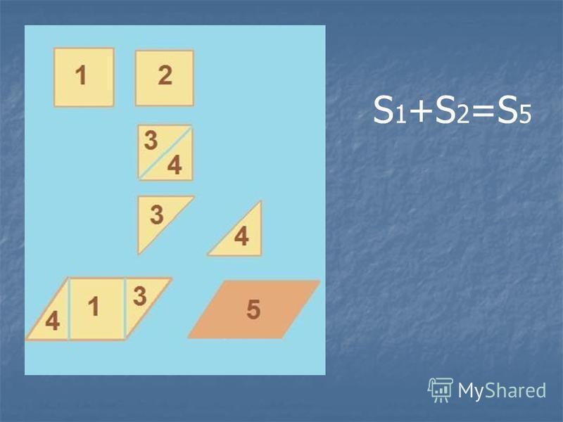 S 1 +S 2 =S 5