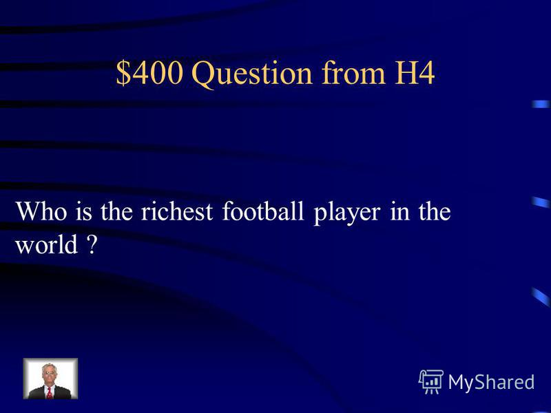 $300 Answer from H4 A Cricket