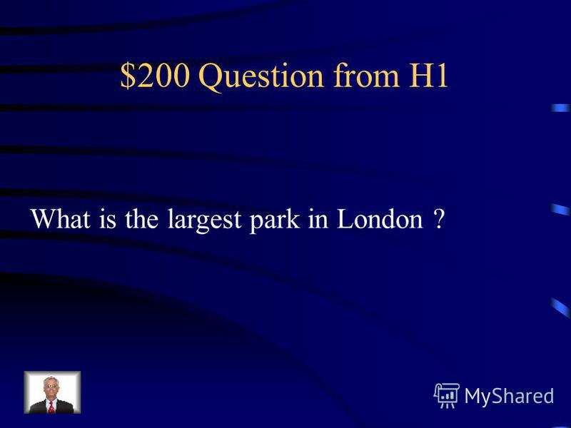 $100 Answer from H1 Nelsons Column