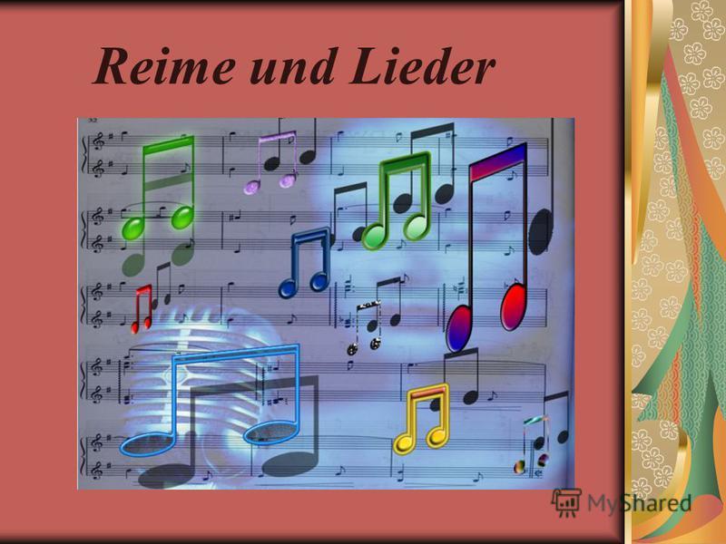 Reime und Lieder