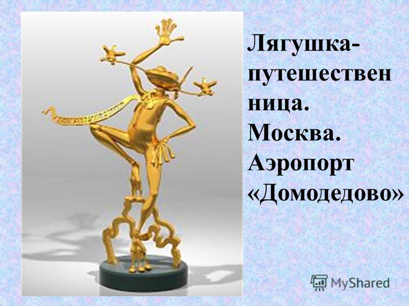 Лягушка- путешественница. Москва. Аэропорт «Домодедово»