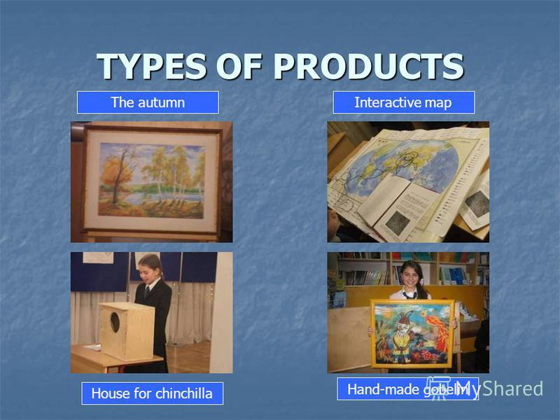 TYPES OF PRODUCTS The autumnInteractive map House for chinchilla Hand-made gobelin