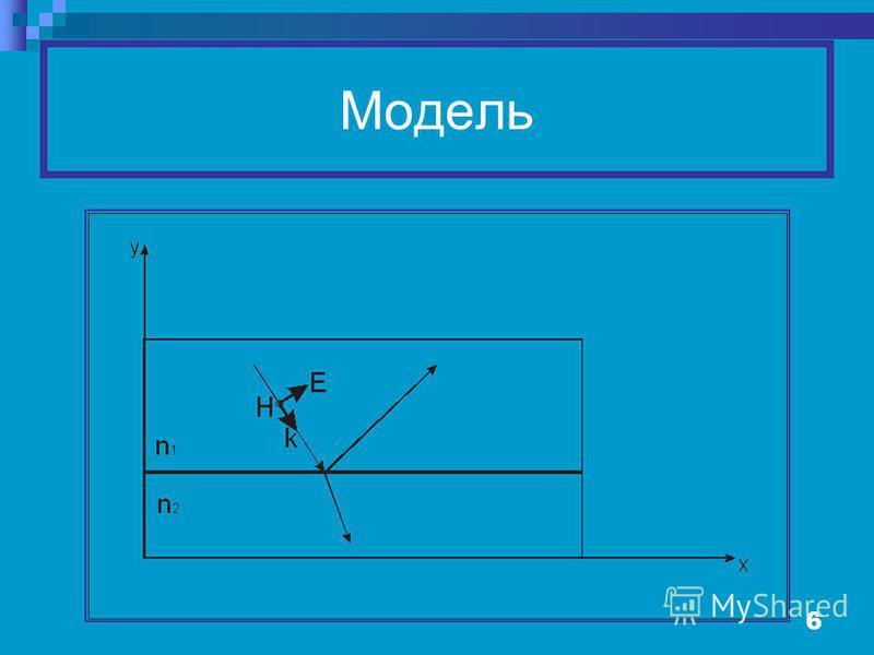 6 Модель