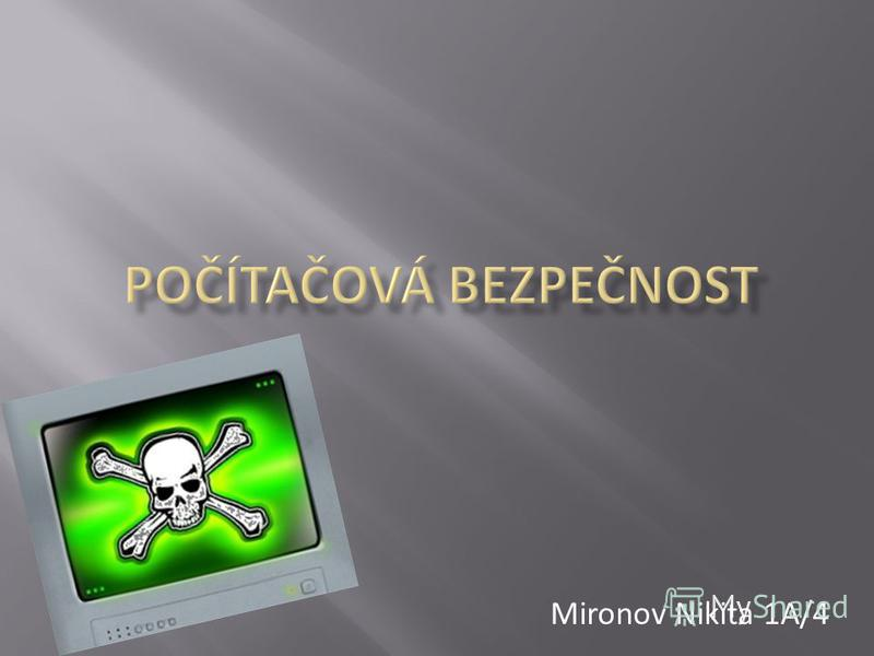 Mironov Nikita 1A/4