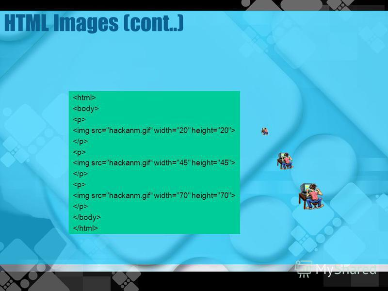 HTML Images (cont..)