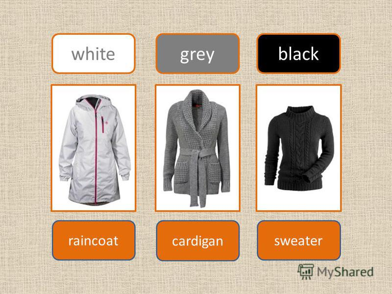 sweater cardigan raincoat white greyblack
