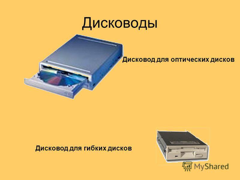 Дисководы Дисковод для оптических дисков Дисковод для гибких дисков