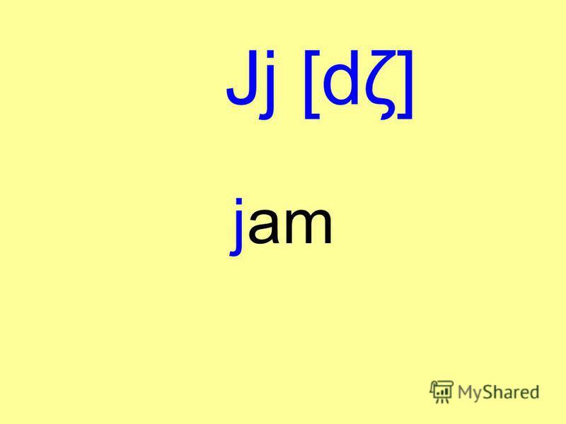 Jj [dζ] jam