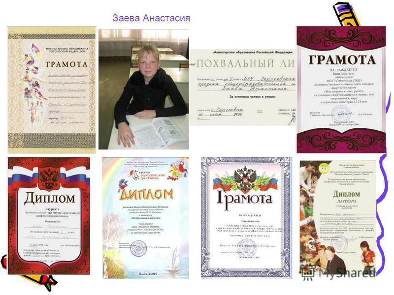 Заева Анастасия
