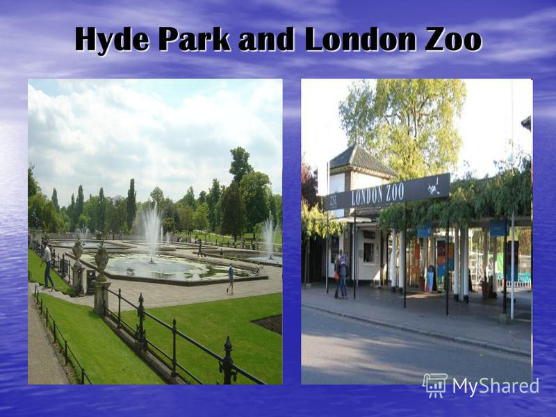 Hyde Park and London Zoo