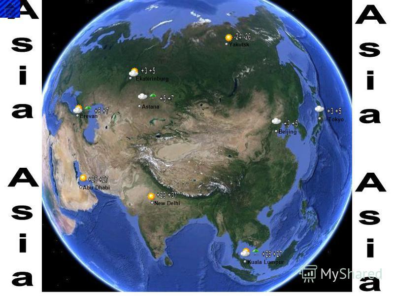 Abu Dhabi New Delhi Kuala Lumpur Beijing Tokyo Yakutsk Ekaterinburg Astana Erevan