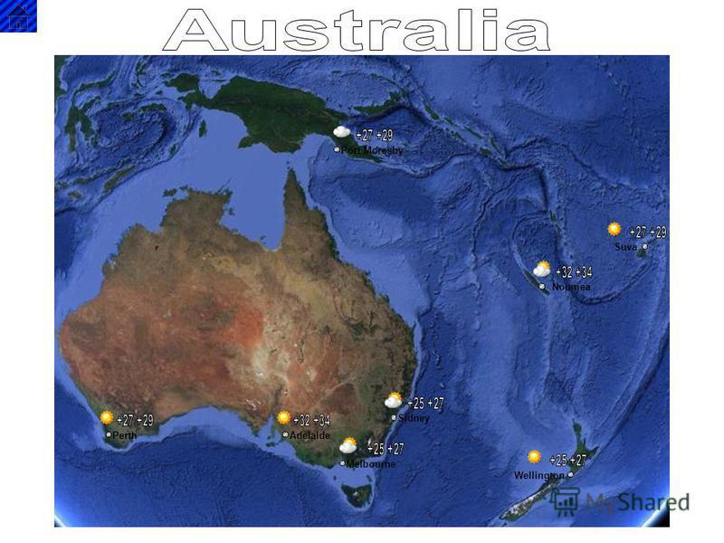PerthAdelaide Melbourne Wellington Sidney Noumea Suva Port Moresby