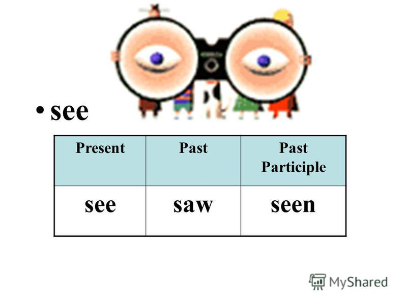 see PresentPastPast Participle seesawseen