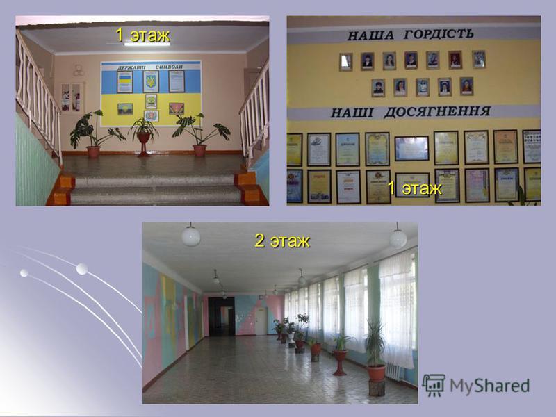 Компьтерный класс 1 этаж 2 этаж
