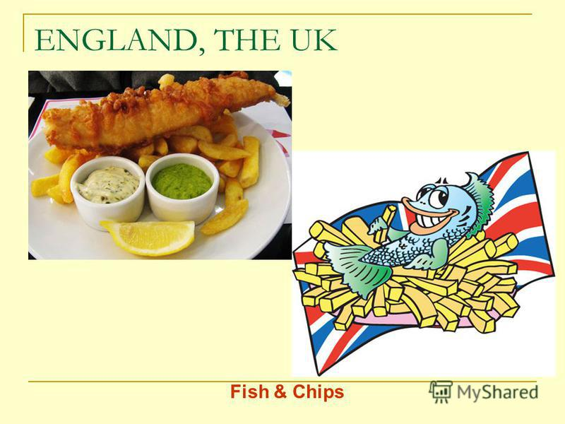 ENGLAND, THE UK Fish & Chips