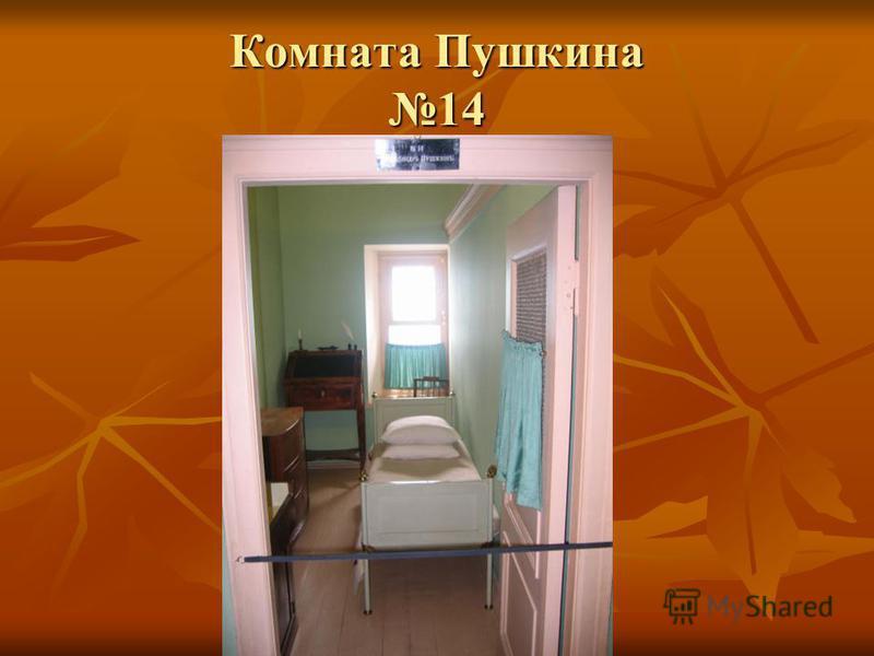Комната Пушкина 14