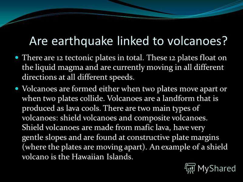 Tectonic Earthquakes Tectonic earthquakes are triggered when the crust becomes subjected to strain, and eventually moves. The theory of plate tectonics explains how the crust of the Earth is made of several plates, large areas of crust which float on