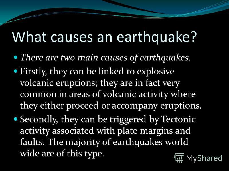 What does an earthquake feels like? The way an earthquake feels depends on where you are, where the earthquake is, and how big the earthquake is: A large earthquake nearby will feel like a sudden large jolt followed quickly by more strong shacking th