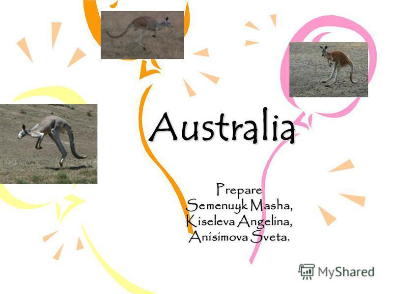 Australia Prepare Semenuyk Masha, Kiseleva Angelina, Anisimova Sveta.