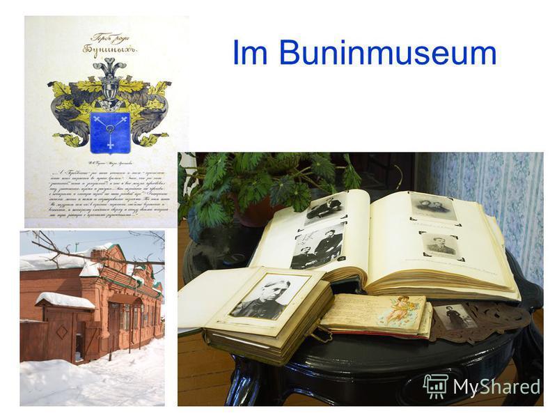 Im Buninmuseum