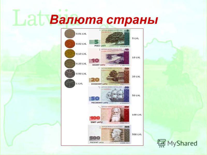 Валюта страны