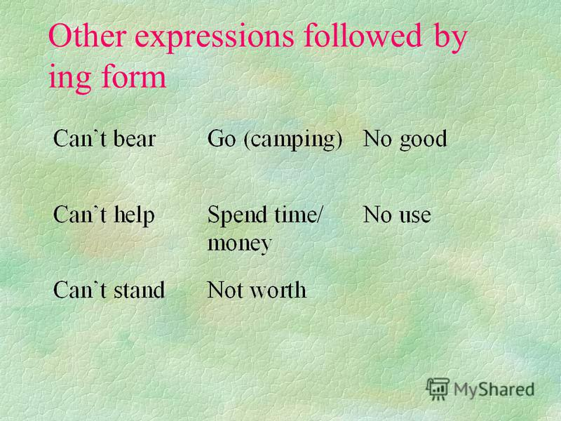 Advjectives + preposition + ing