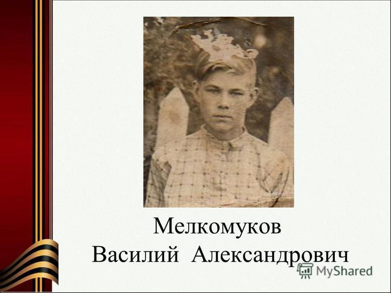 Мелкомуков Василий Александрович