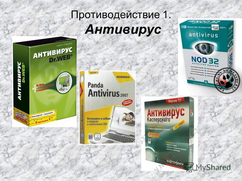 Противодействие 1. Антивирус