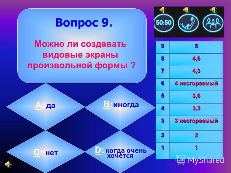 АА: копирование B: изменениеB размера CC: любые операции редактирования D: только D перемещение 9584,6 74,3 6 4 несгораемый 53,6 43,3 3 3 несгораемый 22 11 Какие операции можно выполнить над перекрывающимися видовыми экранами ? Вопрос 8.