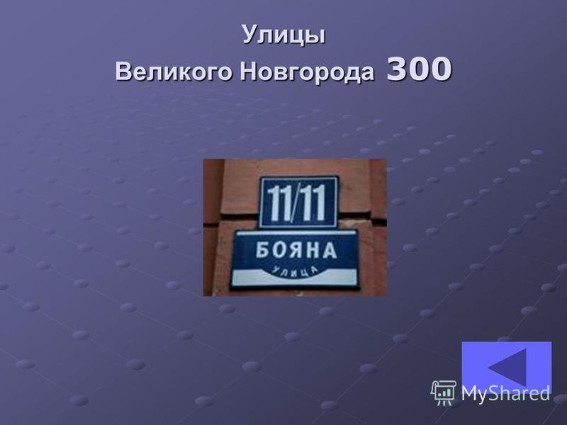 Улицы Великого Новгорода 300