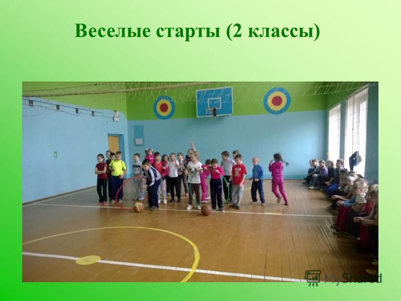 Веселые старты (2 классы)