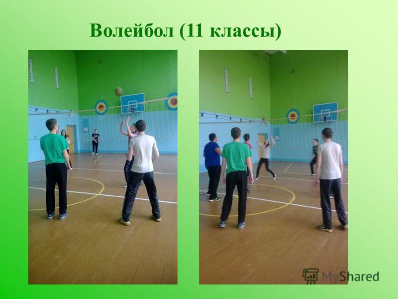 Волейбол (11 классы)