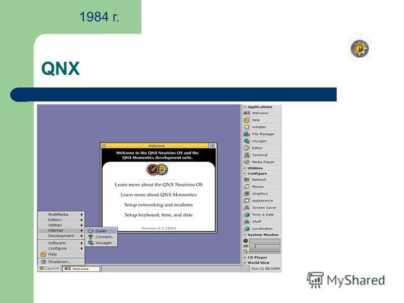 QNX 1984 г.