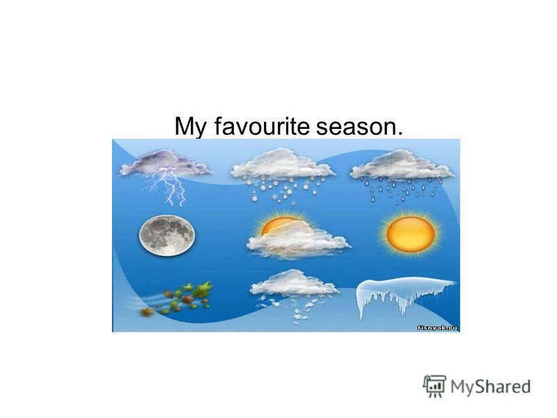 My favourite season.
