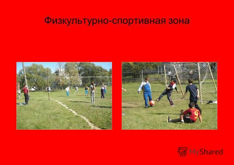 Физкультурно-спортивная зона