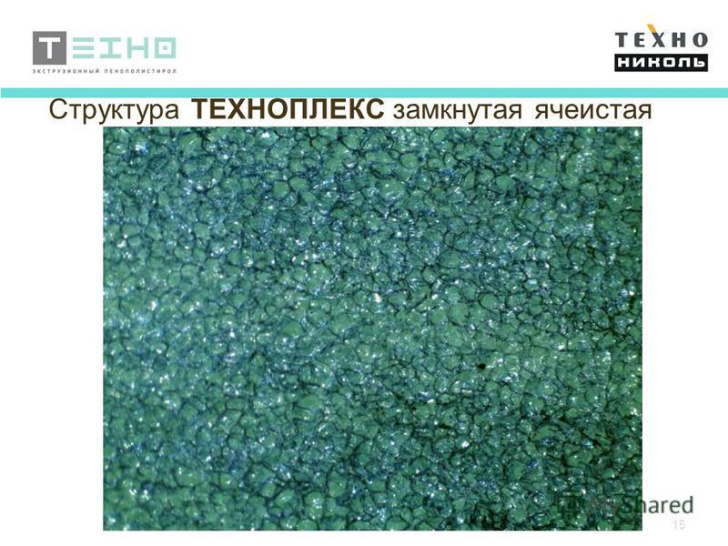 16 Структура ТЕХНОПЛЕКС замкнутая ячеистая