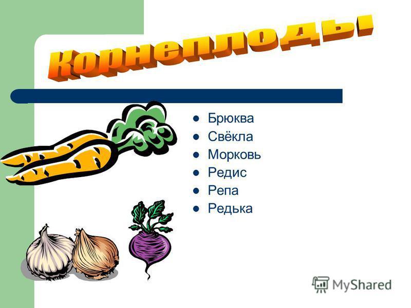Брюква Свёкла Морковь Редис Репа Редька