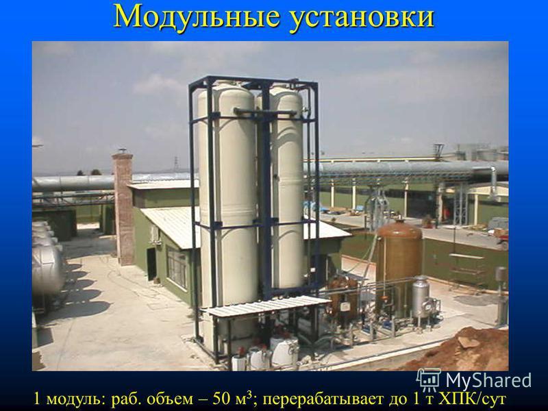 EGSB-реактор в Яготине (сах.завод) Объем реактора – 50 м 3 ; 330 м 3 /сут, 0,99 т ХПК/сут