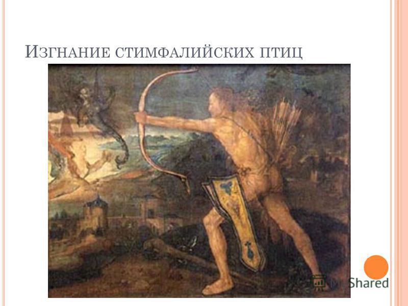 И ЗГНАНИЕ СТИМФАЛИЙСКИХ ПТИЦ