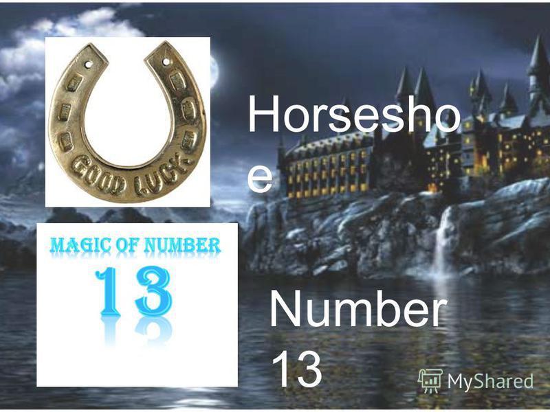 Horsesho e Number 13
