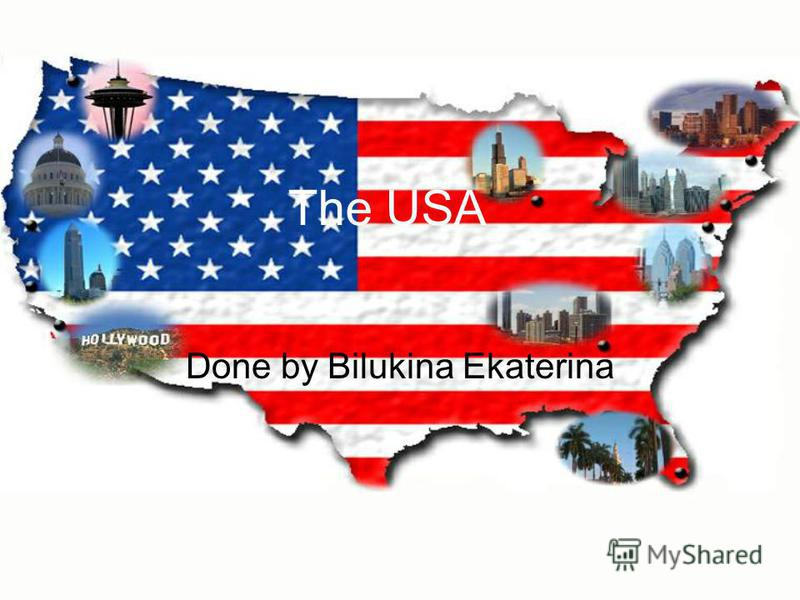 The USA Done by Bilukina Ekaterina