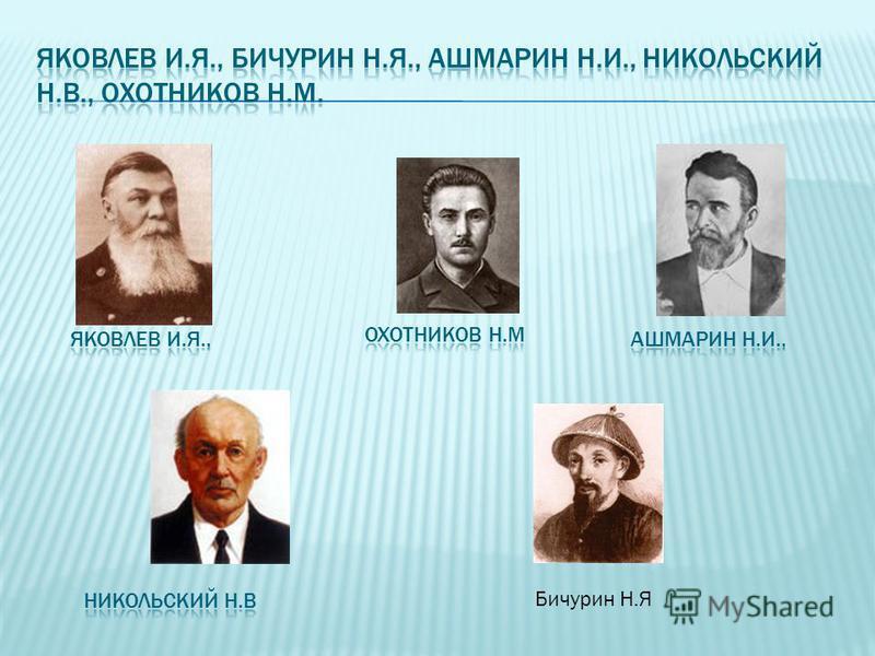 Бичурин Н.Я