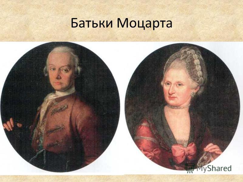 Батьки Моцарта