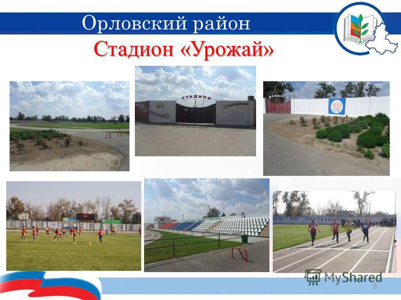 Стадион «Урожай» 8 Орловский район