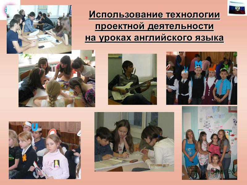 Использование технологии проектной деятельности на уроках английского языка
