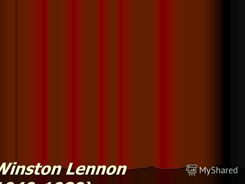 John Winston Lennon (1940-1980)