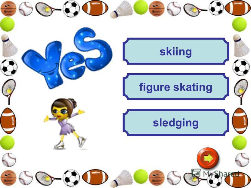 skiing sledging figure skating